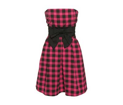 imagens de modelos de vestidos xadrez