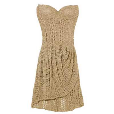 vestido de croché