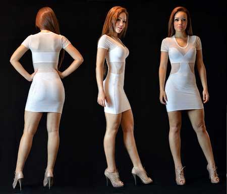 6249824ed Vestidos com Tule e Renda, Bordado e Guipir da Moda