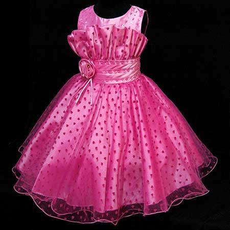 vestidos infantis longos para crianças