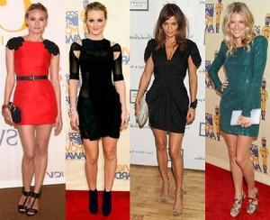 vestidos elegantes da moda feminina