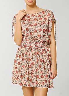 fotos de vestidos floridos