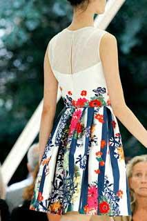 estampas de vestidos floridos