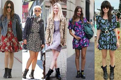vestidos floridos da moda
