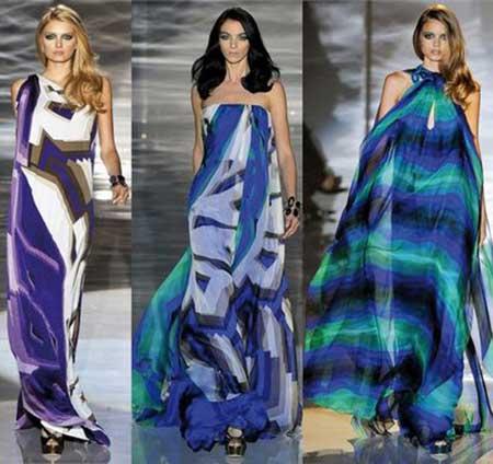 sugestões de vestidos longos estampados