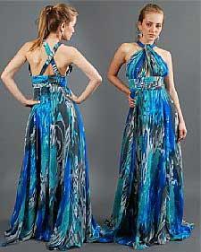 0c2a390dbc Como Usar Vestidos Longos Estampados da Moda Feminina