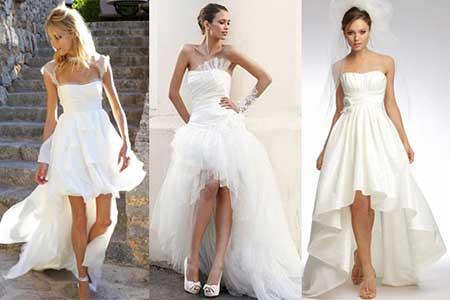 vestidos mullets brancos