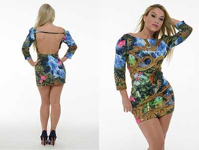 imagens de modelos de vestidos Maria Gueixa