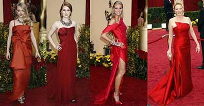 imagens de vestidos vermelhos