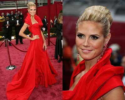 fotos de vestidos vermelhos