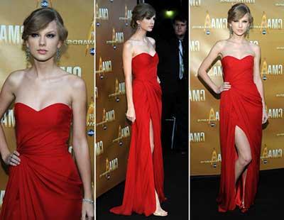dicas de modelos de vestidos vermelhos
