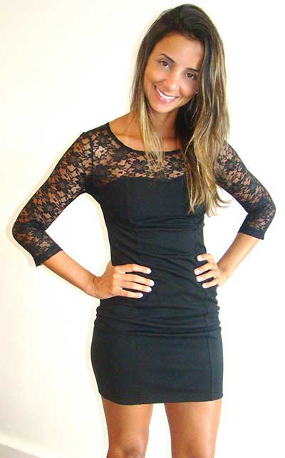 modelos de vestidos com renda