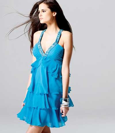 Modelos de Vestidos de Crochê Curtos e  - Moda Feminina