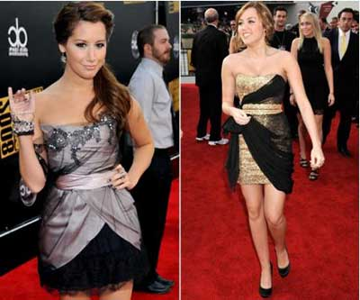 Fotos de famosas com vestidos curtos e justos