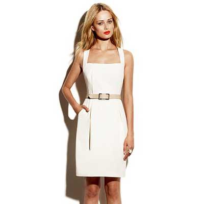 cor branca da moda