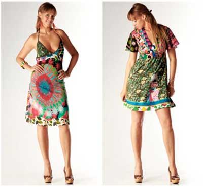 imagens de vestidos estampados