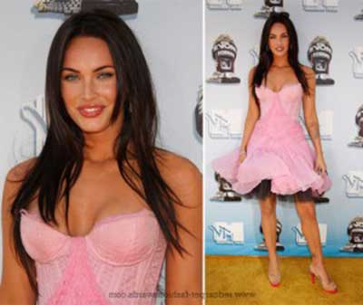 vestidos da Megan Fox