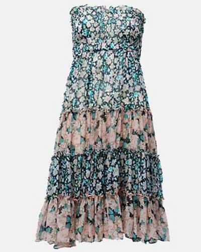 sugestões de vestidos anos 70