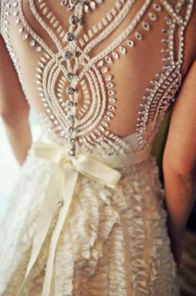 Modelos De Vestidos Bordados Fotos Dicas Imagens