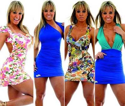 vestidos Juju Salimeni da moda