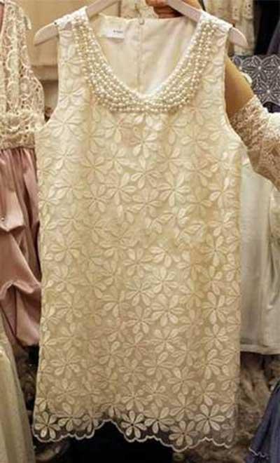 vestidos Com pérolas