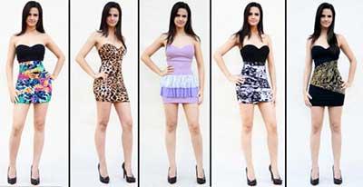imagens de vestidos para balada
