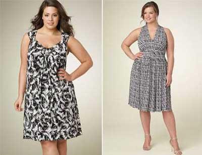 vestidos da moda plus size