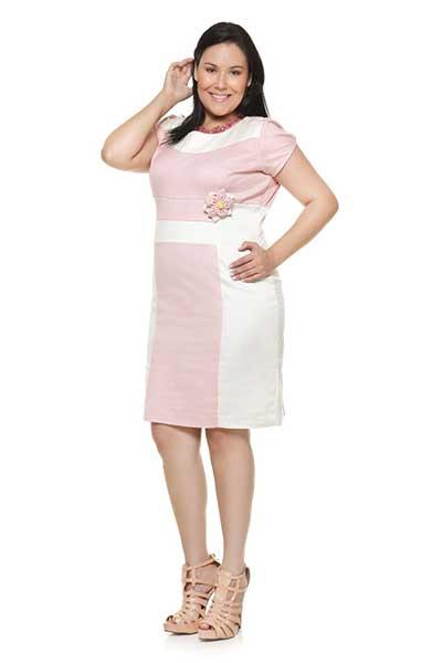 Moldes de vestidos para senhoras gordas
