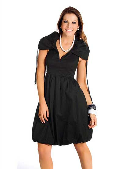 Vestidos de festa curtos moda evangelica