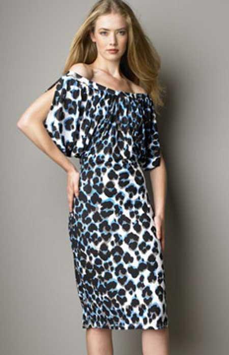 vestidos animal print