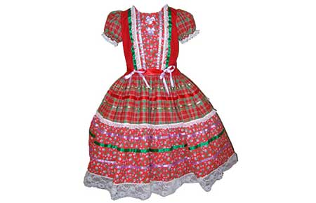 modelos de vestidos de quadrinha