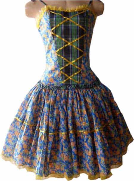 fotos de vestidos de quadrinha