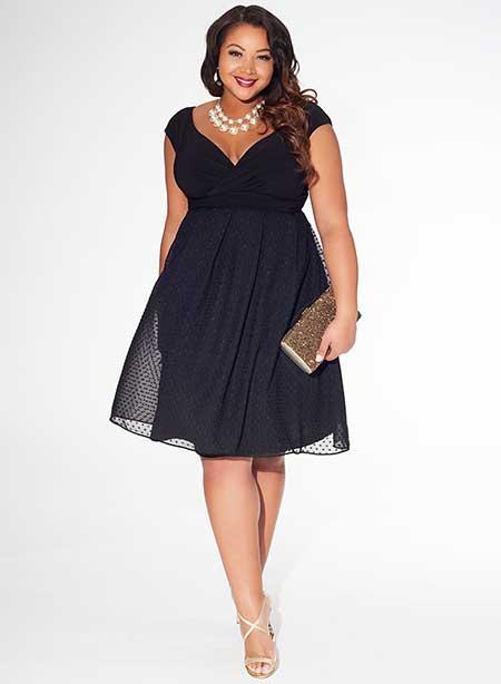 modelo de vestido em tamanho especial