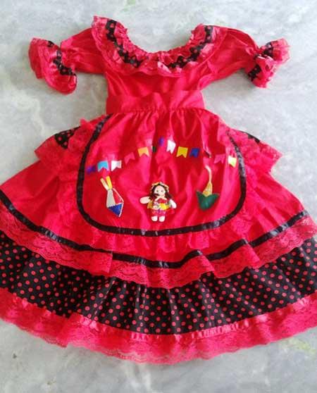 vestidos de quadrilha