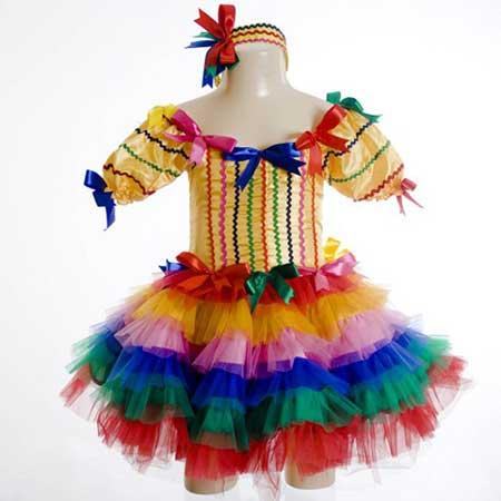 Vestidos De Quadrilha Para Festa Junina Fotos E Modelos