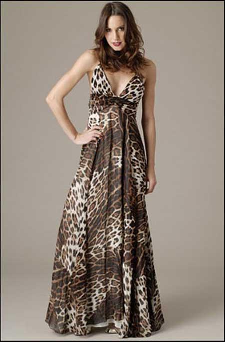 modelo de vestido de oncinha