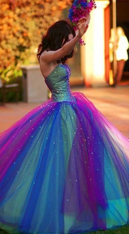 Imagens de Vestidos Coloridos