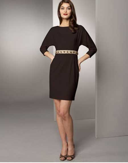 tendências de vestidos de malha