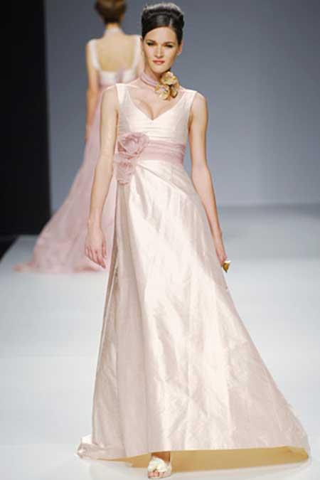 modelos de vestidos de seda