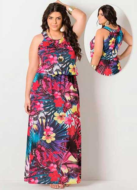 Imagens de Vestidos de Malha