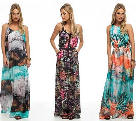 Vestidos de Malha da Moda