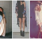 fotos de vestidos hippies