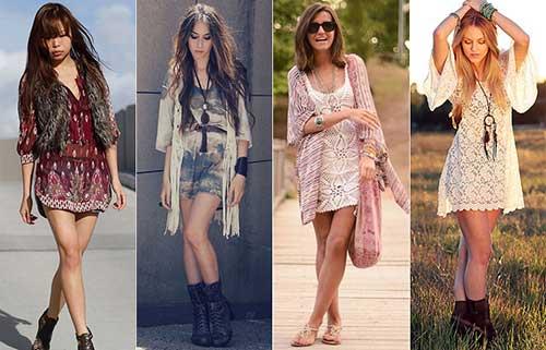 dicas de vestidos hippies
