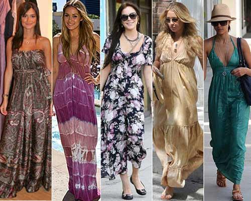 imagens de vestidos hippies