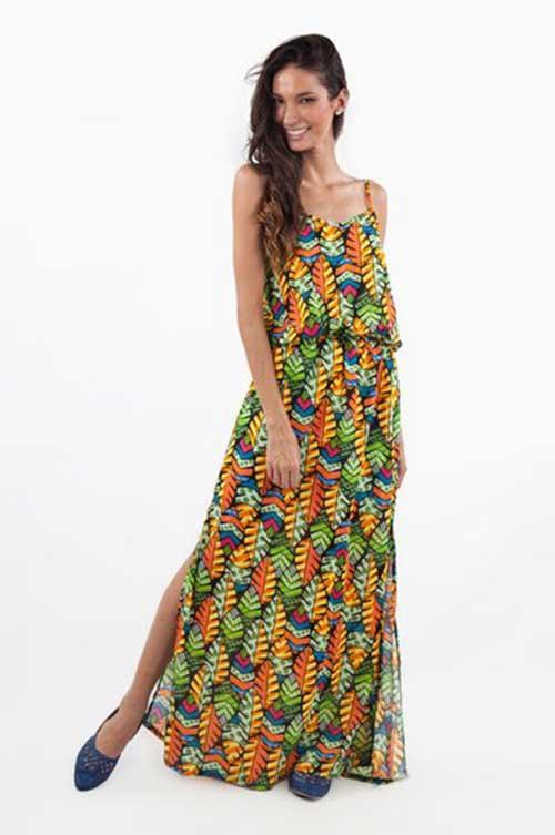 como usar vestido hippie
