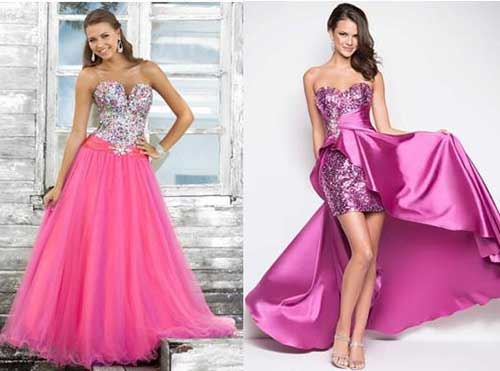 vestido de festa de debutante