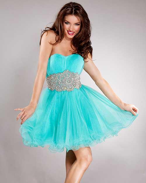 9fa2f3b3b 30 Vestidos de Debutantes  Azul
