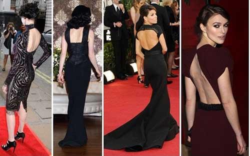 fotos de vestidos com decote