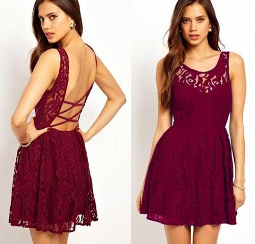 vestidos decotados