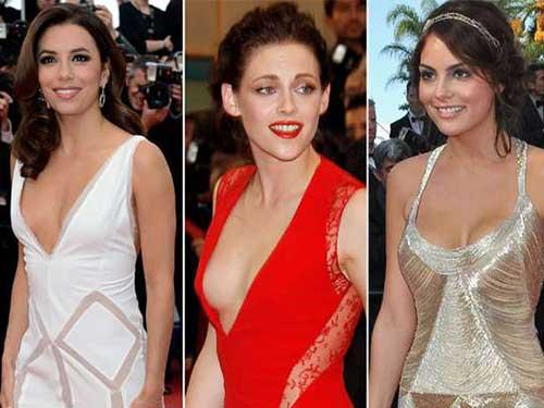modelos de vestidos com decote